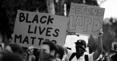 Black Lives Matter protest Los Angeles