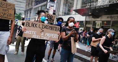 George Floyd protest New York City