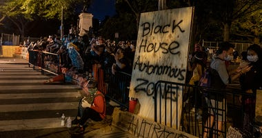 Black House Autonomous Zone Washington DC
