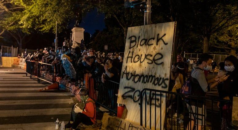 Black House Autonomous Zone Washington DC