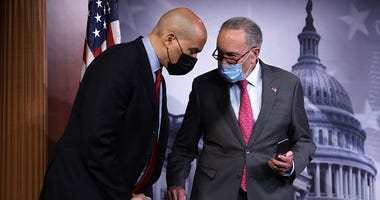 Chuck Schumer and Cory Booker