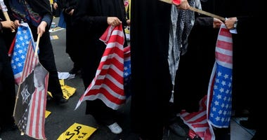 Iranians Gather To Mark Anniversary of 1979 Embassy Takeover