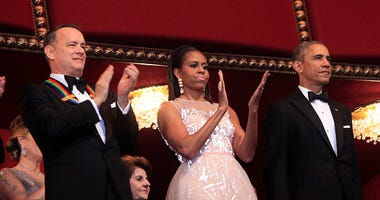 Tom Hanks and the Obamas