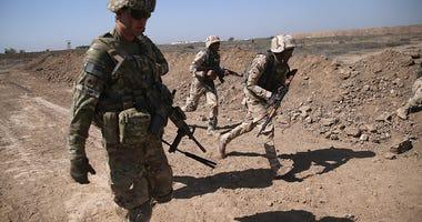 U.S. Military Trains Iraqi Army