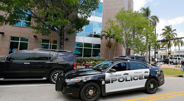 Miami police car