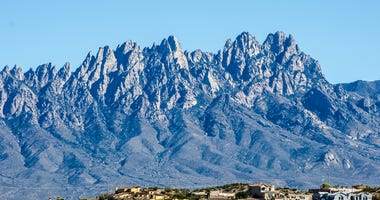Organ Mountains in Las Cruces, NM