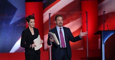 Chuck Todd & Rachel Maddow