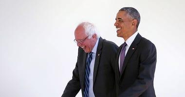 Barack Obama Bernie Sanders