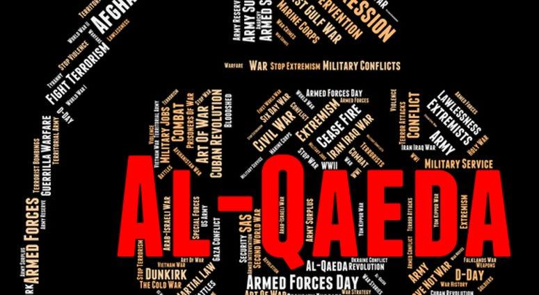 Al-Qaeda Word Representing Anarchy Revolution And Wordcloud