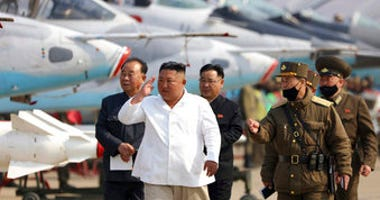 FILE - In this undated file photo provided by the North Korean government on April 12, 2020, North Korean leader Kim Jong Un inspects an air defense unit in western area, North Korea. (Korean Central News Agency/Korea News Service via AP)