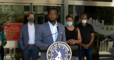 Mayor Levar Stoney addresses violent protests