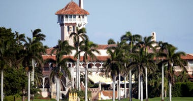 FILE - This Nov. 21, 2016, file photo, shows the Mar-a-Lago resort owned by President Trump in Palm Beach, Fla. There was an unspecified incident involving the Secret Service, but authorities would not say what happened. (AP Photo/Lynne Sladky, File)