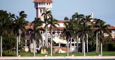 FILE - This Nov. 21, 2016, file photo, shows the Mar-a-Lago resort owned by then President-elect Donald Trump in Palm Beach, Fla. (AP Photo/Lynne Sladky, File)