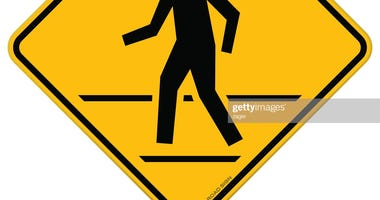 Pedestrian Crossing sign (Photo Credit: Getty Images)