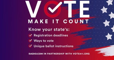 Vote: Make It Count — Prepare for Election Day with RADIO.COM and VOTE411
