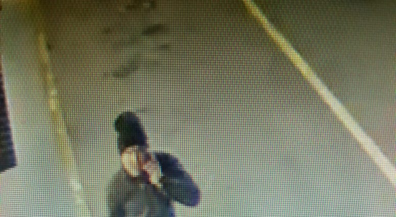 Chesterfield Police looking for a suspect in a robbery at the Iron Bridge Road Wawa Thursday night. (Photo Credit: Chesterfield Police)
