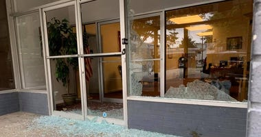 Republican Party headquarters vandalized in Richmond