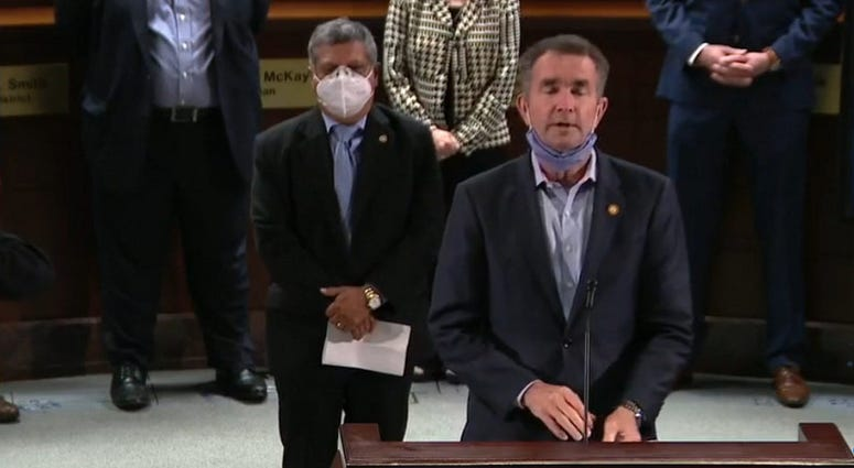Governor Ralph Northam Covid-19 Briefing