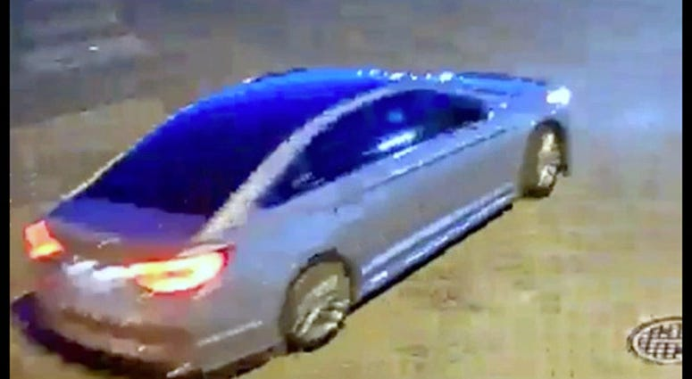 Richmond Police looking for a vehicle in connection to a murder that happened Monday night in Mosby Court (Photo Credit: Richmond Police)