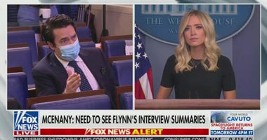 Ryan Lizza asks Kayleigh McEnany question