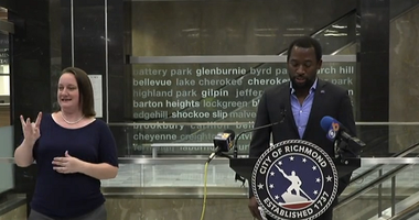 Richmond Mayor Levar Stoney says he's requesting a delay in reopening on May 14, 2020. (City of Richmond)