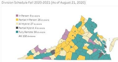 Virginia Schools Reopening