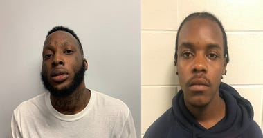 Andre Scott and Avontae Clayton are accused of stealing a car with an infant inside