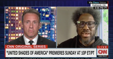 Chris Cuomo and Kamau Bell CNN