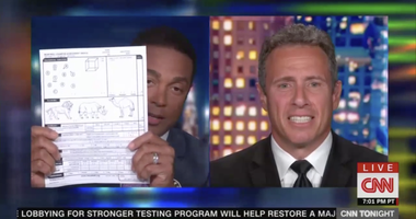 Don Lemon and Chris Cuomo