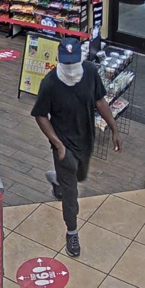 Chesterfield Police searching for a suspect who robbed the Sheetz on South Providence Road Thursday morning (Photo Credit: Chesterfield Police)