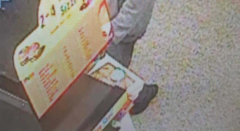Chesterfield Police looking for a suspect who robbed the Iron Bridge Road Wawa early Thursday morning. (Photo Credit: Chesterfield Police)