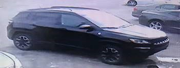 Richmond Police looking for the vehicle in connection with three suspects who are accused of breaking into gaming machines at a convenience store (Photo Credit: Richmond Police)