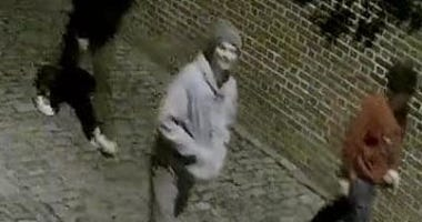 Richmond Police looking for suspects who vandalized property with graffiti on March 22 (Photo Credit: Richmond Police)