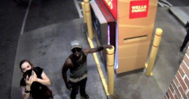 Richmond Police looking for suspects tied to vandalism and break in at Wells Fargo during riots and unrest in late May (Photo Credit: Richmond Police)