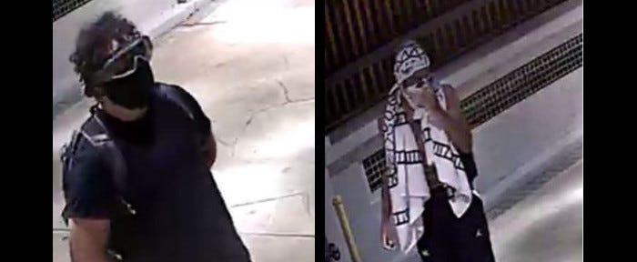 Richmond Police hunt suspects in riot vandalism