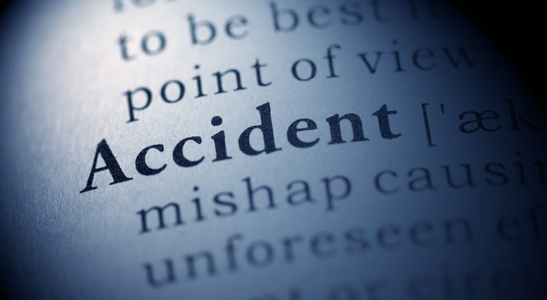 Accident Text. ( Dreamstime)
