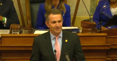Governor Ralph Northam (D) gives the State of the Commonwealth on January 8, 2020.  (House Feed)