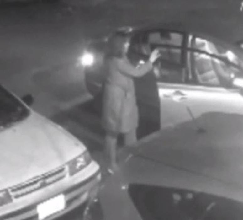 Richmond Police looking for suspects related to a hit-and-run in the Fan District (Photo Credit: Richmond Police)