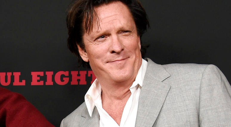 "FILE - This Dec. 7, 2015 file photo shows actor Michael Madsen at the premiere of ""The Hateful Eight"" in Los Angeles.  (Photo by Chris Pizzello/Invision/AP, File)"