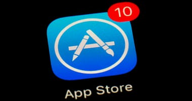 FILE - This March 19, 2018, file photo shows Apple's App Store app in Baltimore. As its iPhone sales slip, Apple has been touting its growing digital-services business as the engine that will keep profits up. (AP Photo/Patrick Semansky, File)