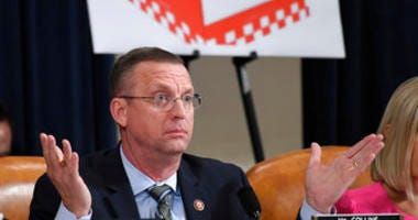 House Judiciary Committee ranking member Rep. Doug Collins, R-Ga., speaks as the House Judiciary Committee hears investigative findings in the impeachment inquiry of President Trump, Monday, Dec. 9, 2019, on Capitol Hill. (AP Photo/Susan Walsh)