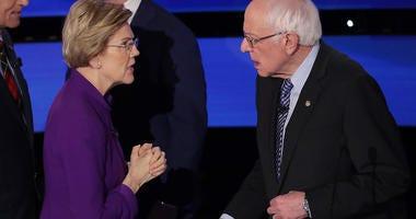 Elizabeth Warren and Bernie Sanders