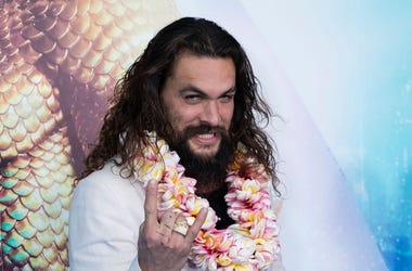 Jason Momoa attends the Aquaman Sydney Fan Event at Event Cinemas George Street on December 19, 2018 in Sydney, Australia