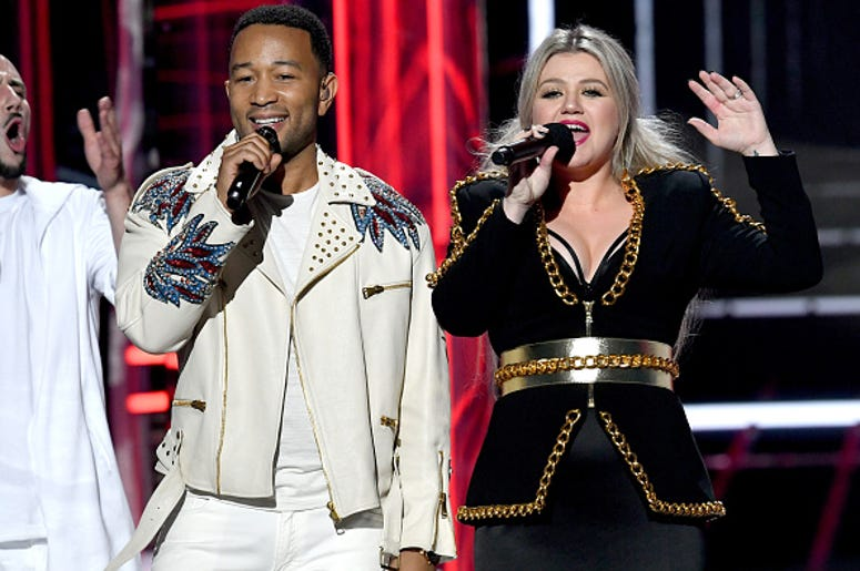 Kelly Clarkson, John Legend