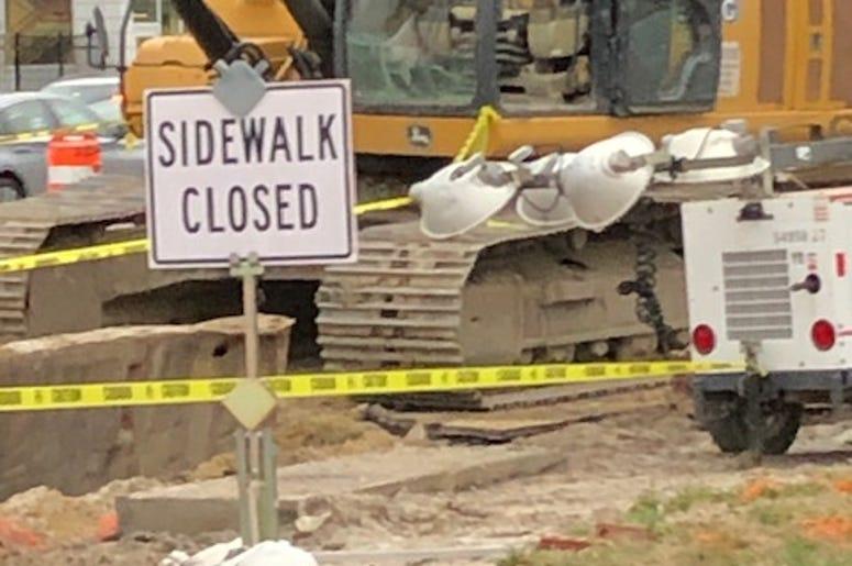 Sidewalk Closed!