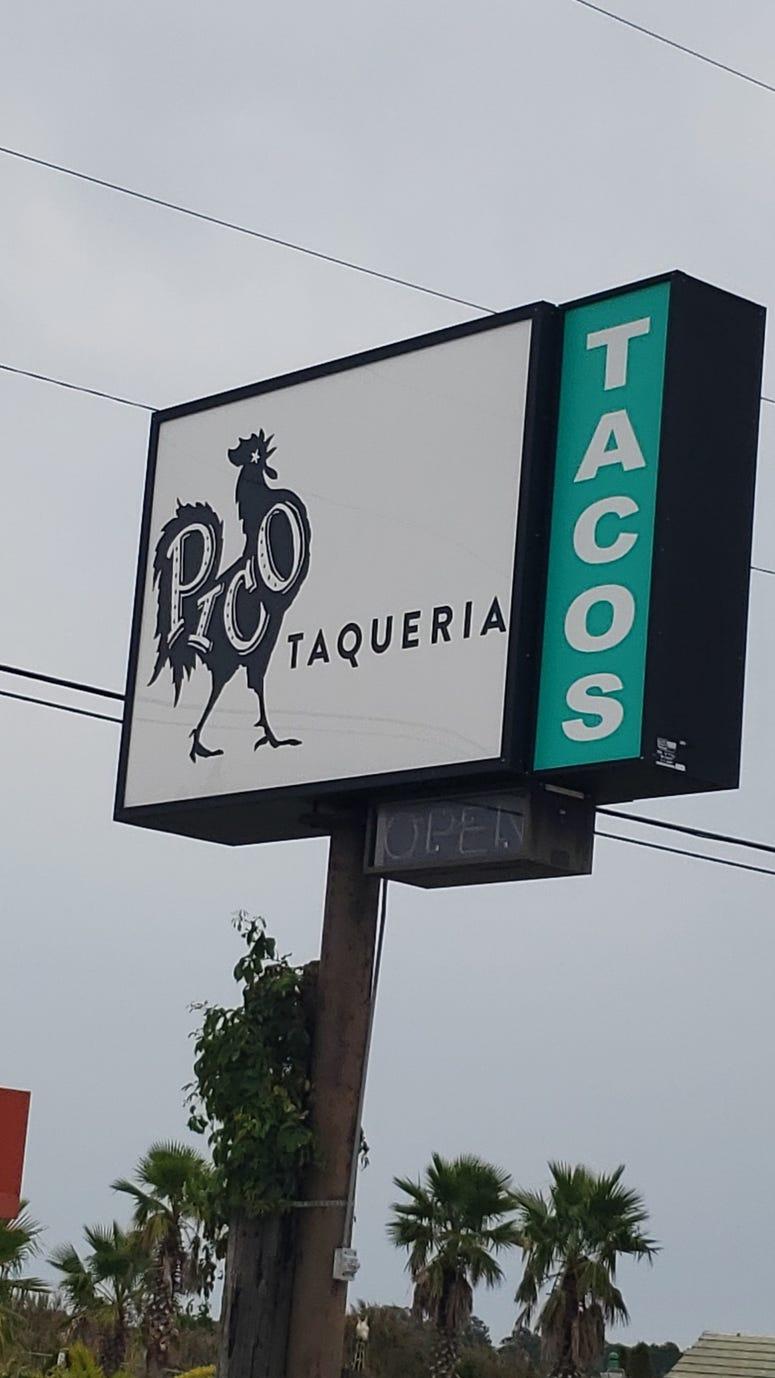 pico taqueria tacos