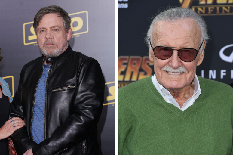 Mark Hamill and Stan Lee