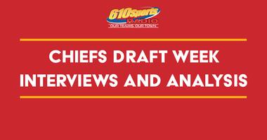 Chiefs Draft Week Interviews