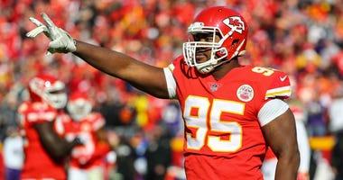 Chiefs defensive tackle Chris Jones