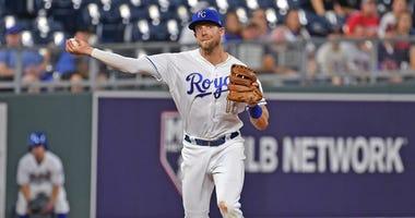 Royals third baseman Hunter Dozier